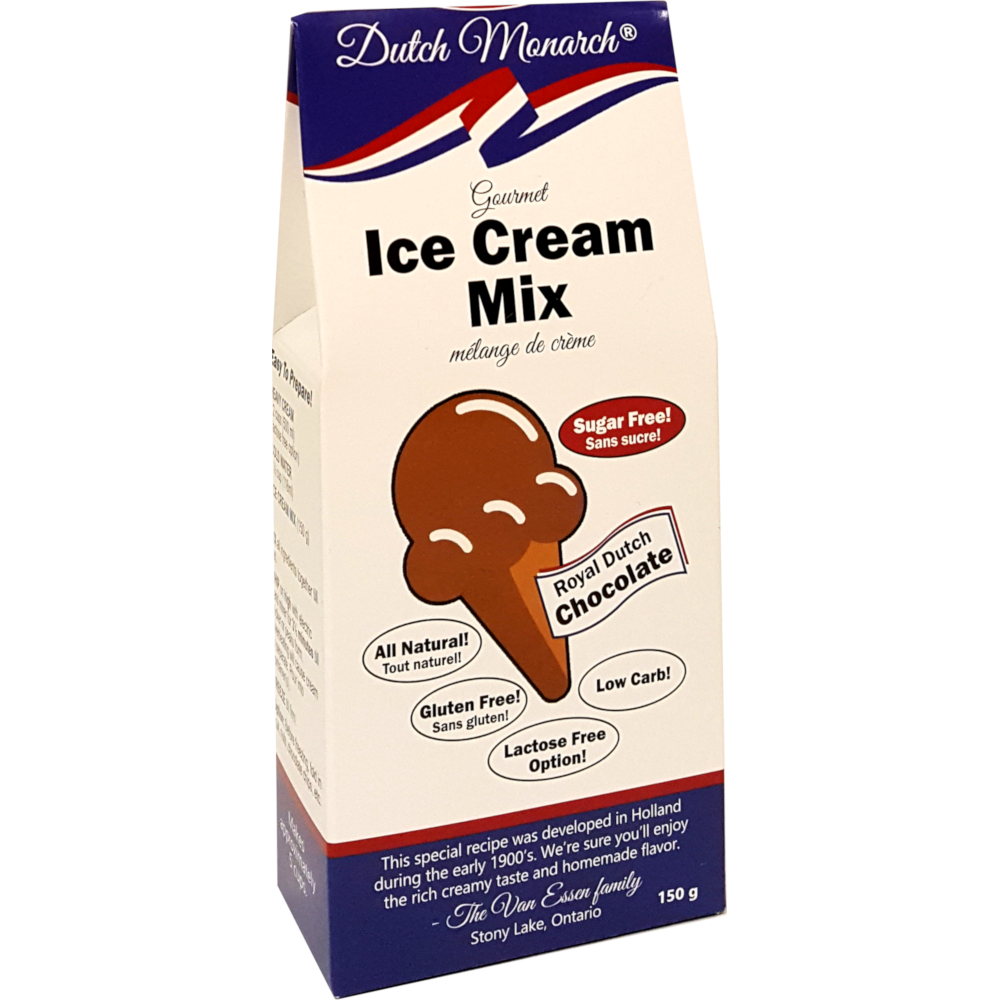 *New: Dutch Monarch Sugar Free Ice Cream Mixes, Launch Promo - 20% Off
