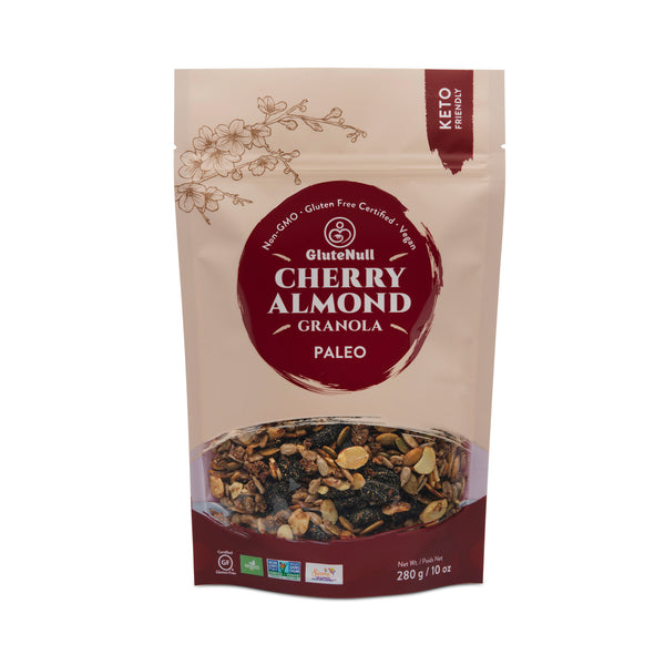 GluteNull Bakery Keto-Friendly Cherry Almond Granola