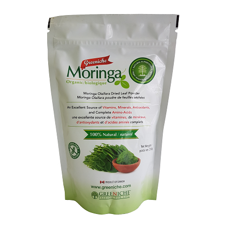 Greeniche Natural Organic Moringa Powder