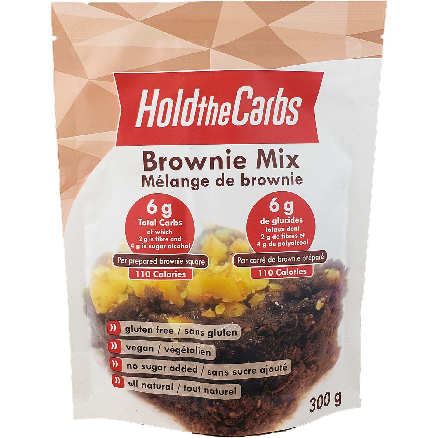 HoldTheCarbs Brownie Mix