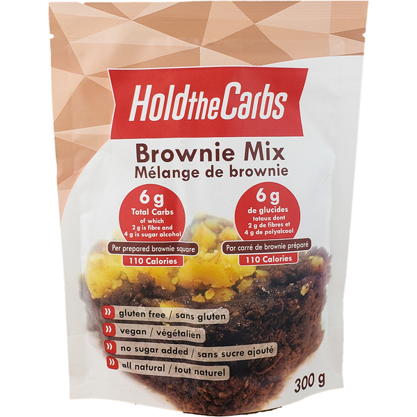 HoldTheCarbs Brownie Mix, Jan Promo - 20% Off
