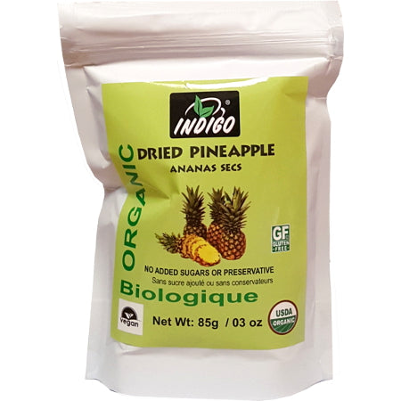Indigo Organic Dried Pineapple