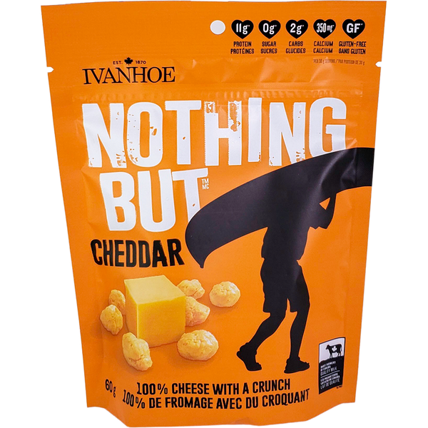 *New: Ivanhoe Nothing But Cheese (60g Pouches)