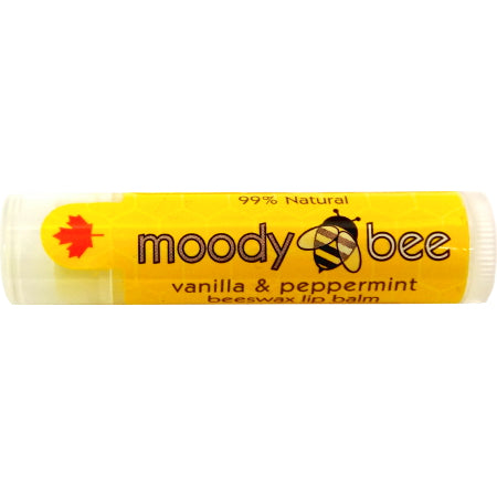 Moody Bee Lip Balm Vanilla & Peppermint