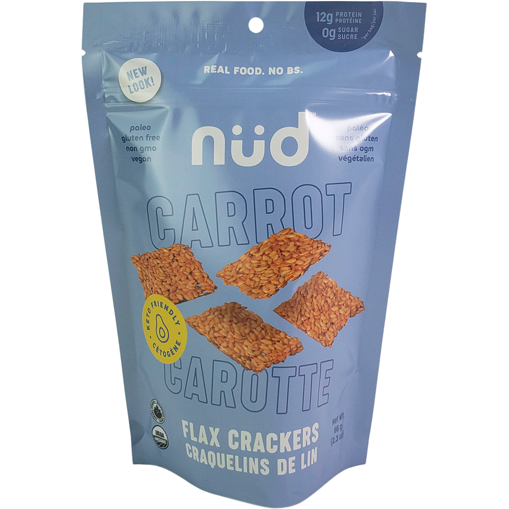 *New: nud fud Organic Raw Keto Crackers