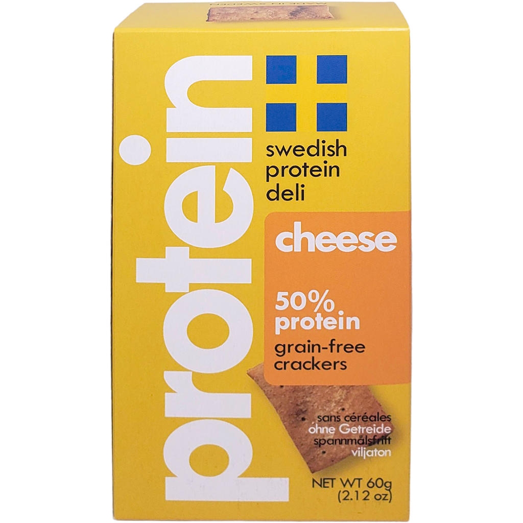 *New: Swedish Protein Deli Grain-Free Crackers, Launch Promo - 20% Off