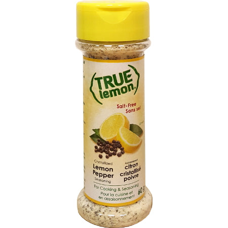 True Citrus Seasoning Shaker - Lemon Pepper
