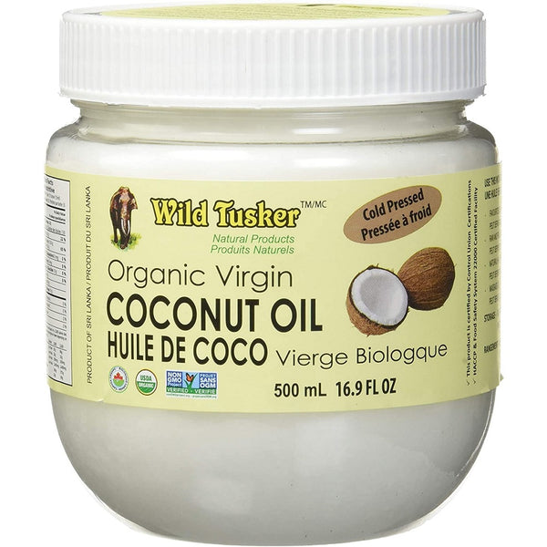 *Limited Batch Sale: Wild Tusker Organic Virgin Coconut Oil (Plastic Jars) - 35% Off