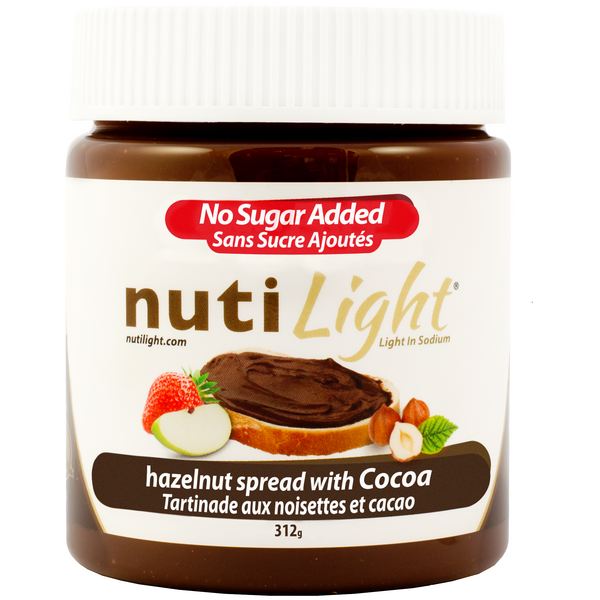 *New NutiLight Hazelnut Spreads, Launch Promo - 10% Off