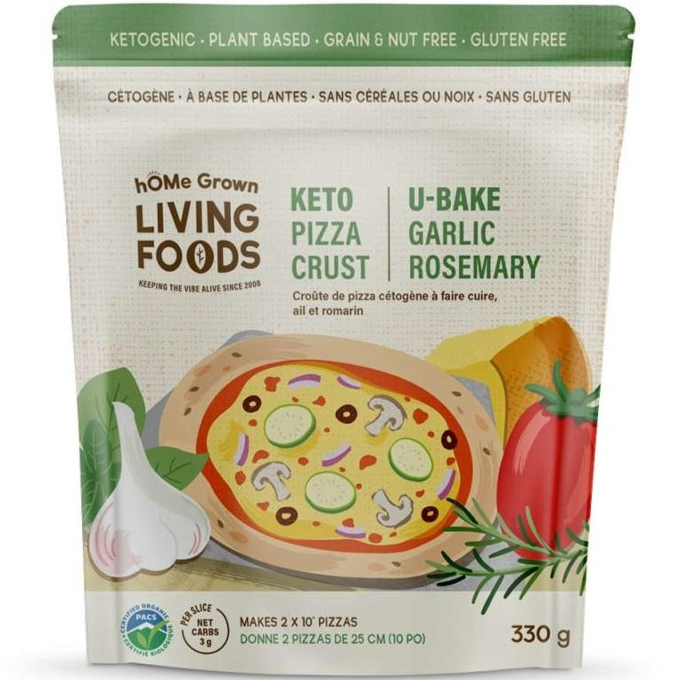 *New hOMe Grown Living U-Bake Pizza Crust Mix, August Promo - 20% Off