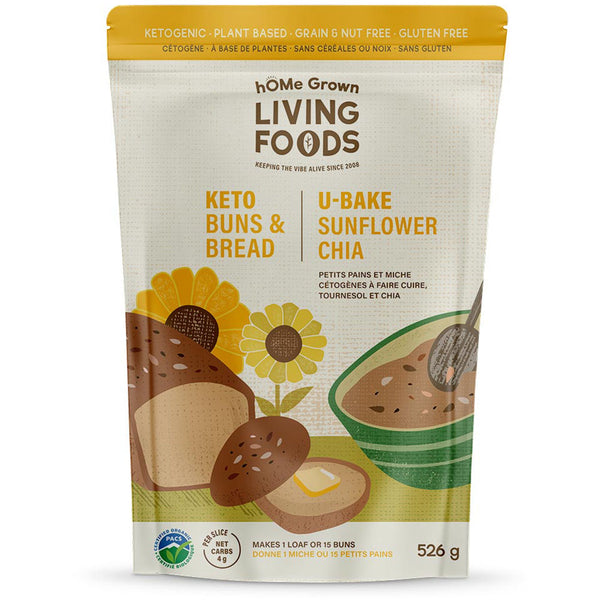 *New hOMe Grown Living U-Bake Bread and Bun Mixes