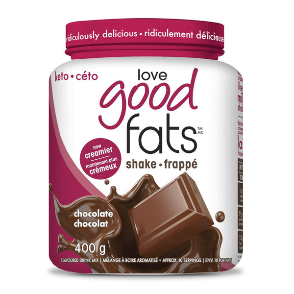 love good fats Keto Shakes, Jan Promo - 25% Off