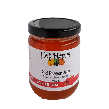 Hot Mamas Zero Sodium Jelly - Red Pepper