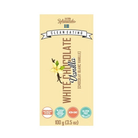KZ Clean Eating White Chocolate Vanilla Bar (10 Pack)