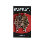 Black Metal Pin