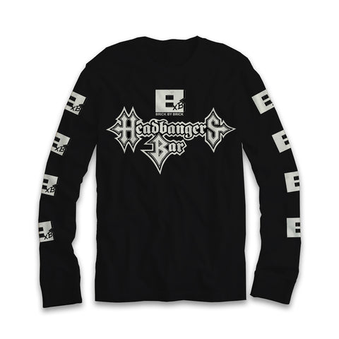 Headbangers Bar Long Sleeve Tee