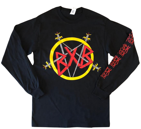 Reign in Brick Long Sleeve Tee