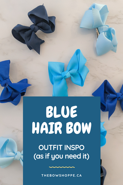 Blue Hair Bow Outfit Inspo: What To Pair With Blue Hair Bows