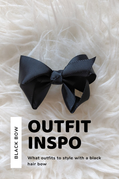 Black Hair Bow Outfit Inspo: What To Pair With Black Bows