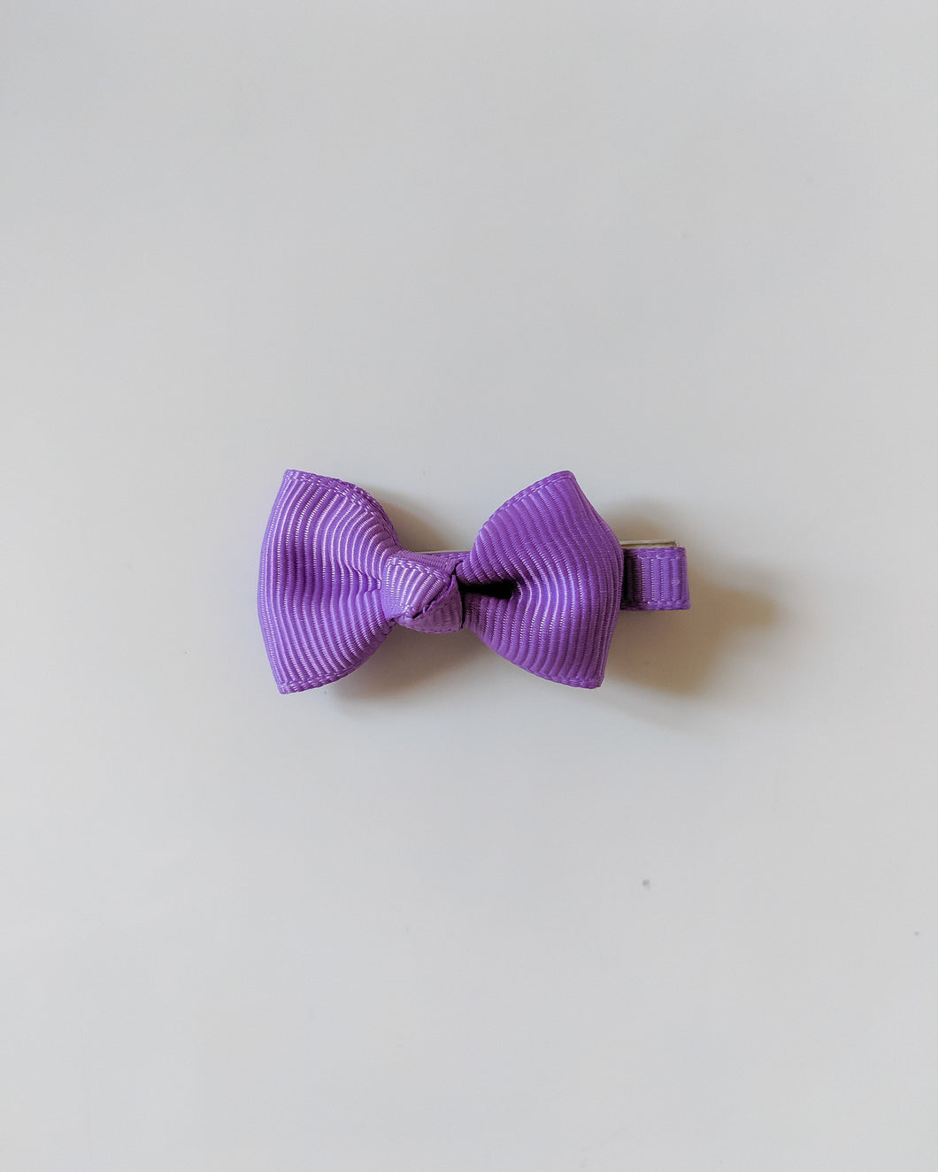 Purple 2 Inch Ribbon Hair Bow