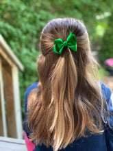 Load image into Gallery viewer, Shamrock Green 3 Inch Ribbon Hair Bow