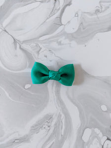 Emerald Green 2 Inch Ribbon Hair Bow
