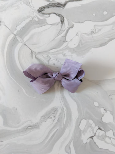 Periwinkle Purple 3 Inch Ribbon Hair Bow