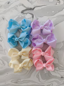 3 Inch Bow Happy Pack - Pastels