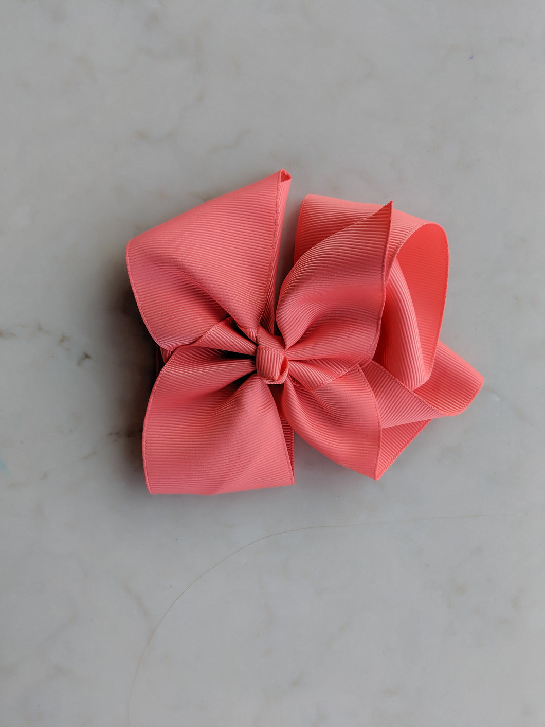 Rosewood Pink 6 Inch Hair Bow