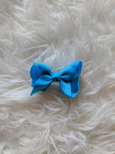 Load image into Gallery viewer, Sky Blue 3 Inch Ribbon Hair Bow