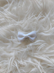 White 2 Inch Hair Bow