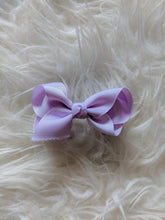 Load image into Gallery viewer, Lilac Light Purple 3 Inch Hair Bow