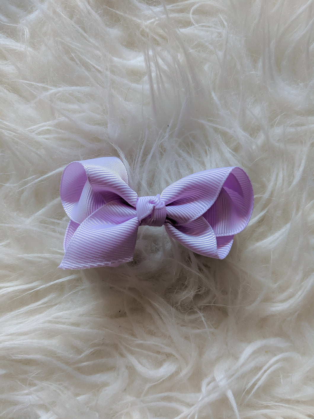 Lilac Light Purple 3 Inch Hair Bow