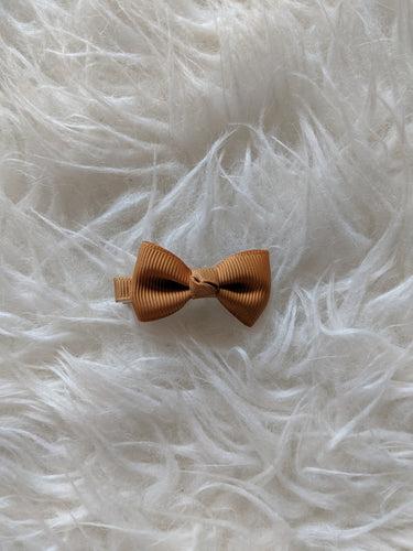 Caramel Brown 2 Inch Hair Bow