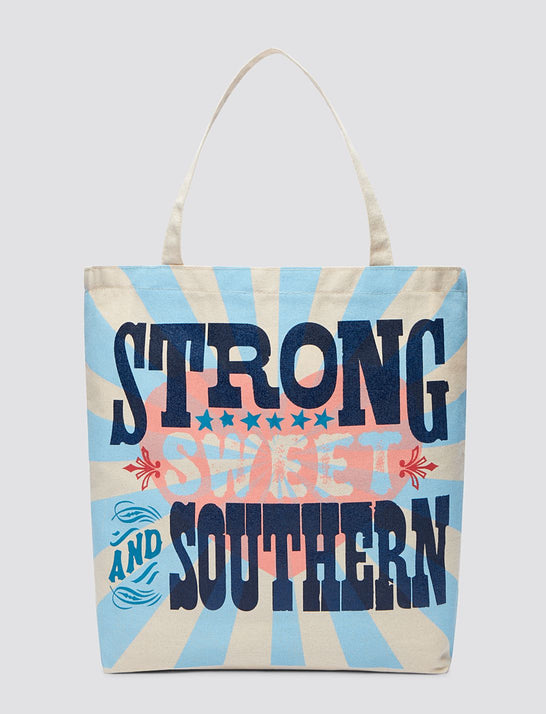 Strong Sweet And Southern Tote