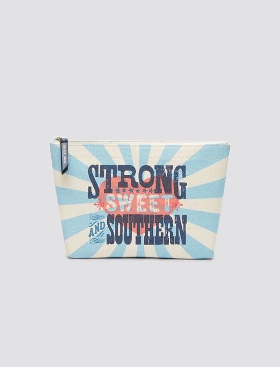 Strong Sweet And Southern Pouch