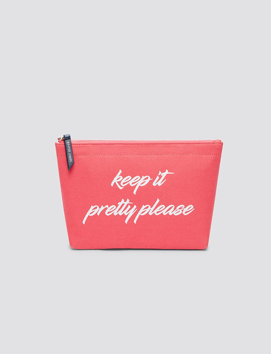 Keep It Pretty Please Pouch*