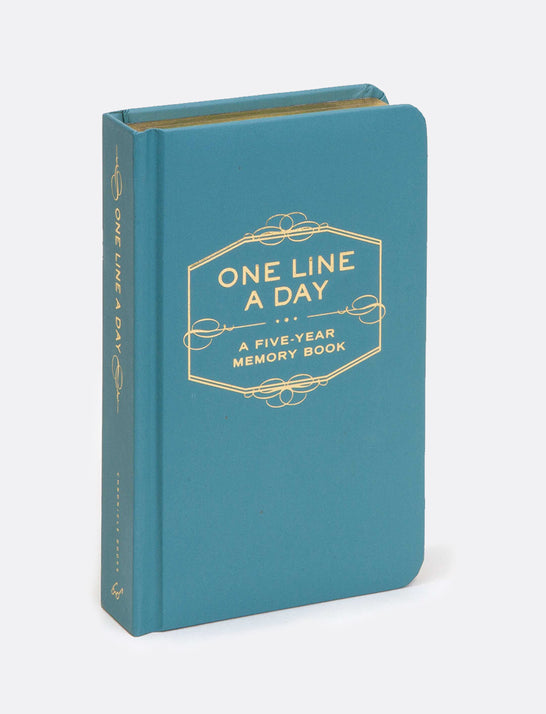 One Line A Day: 5 Year Memory Book