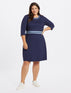 Solid Persley Ponte Dress