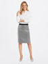 Collection Sequin Pencil Skirt