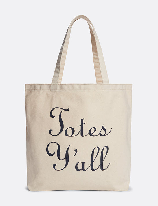 Totes Y'all Market Canvas Tote