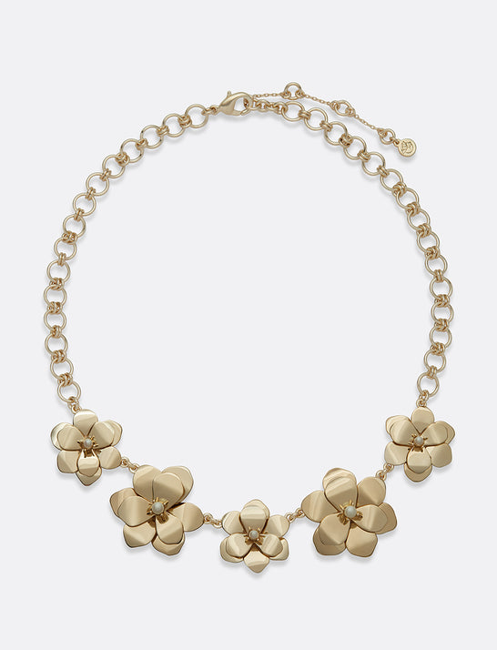 Magnolia Statement Necklace