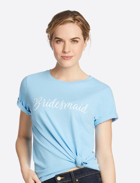 Bridesmaid Crewneck Tee