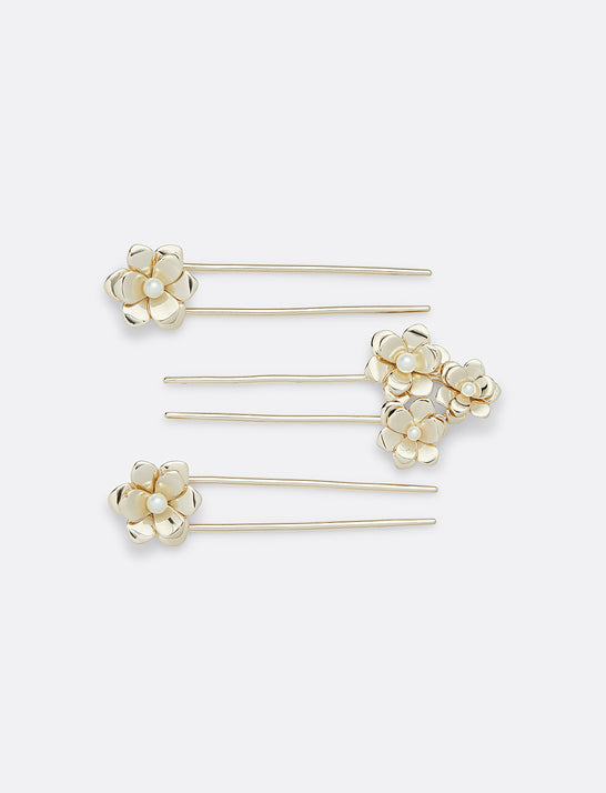 Magnolia Hair Pin (Set of 3)