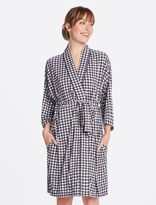 Louise Robe in Gingham