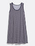 Gingham Sleeveless Chemise