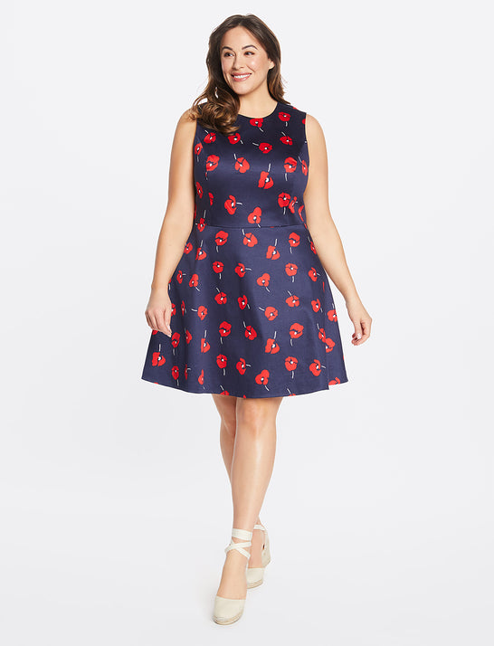 Poppy Love Circle Dress