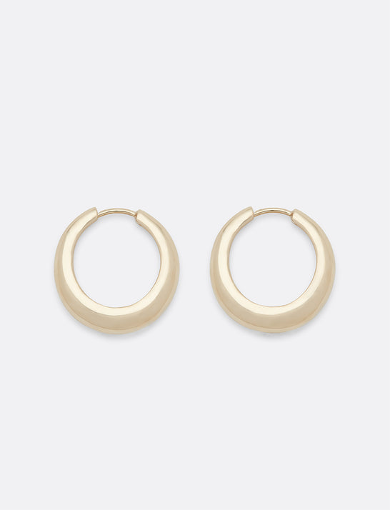 Tapered Rounded Hoops