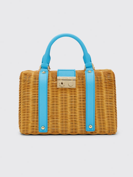 Solid Wicker Bag