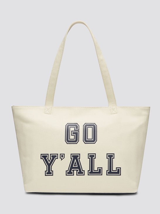 Go Y'all Insulated Cooler Tote